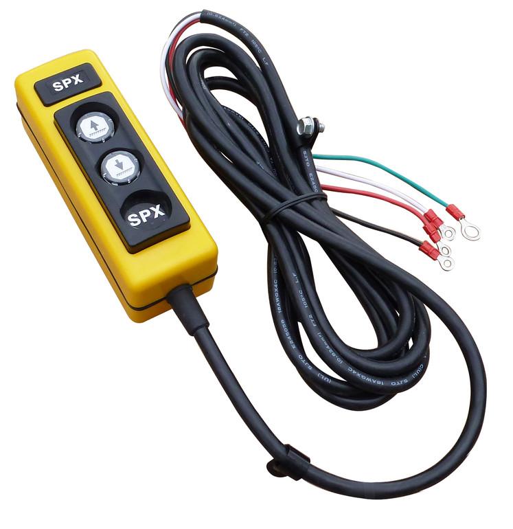 spx remote control: da, 2-button (raise<br>& lower), 4-wire, 10 ft  cord,  116188