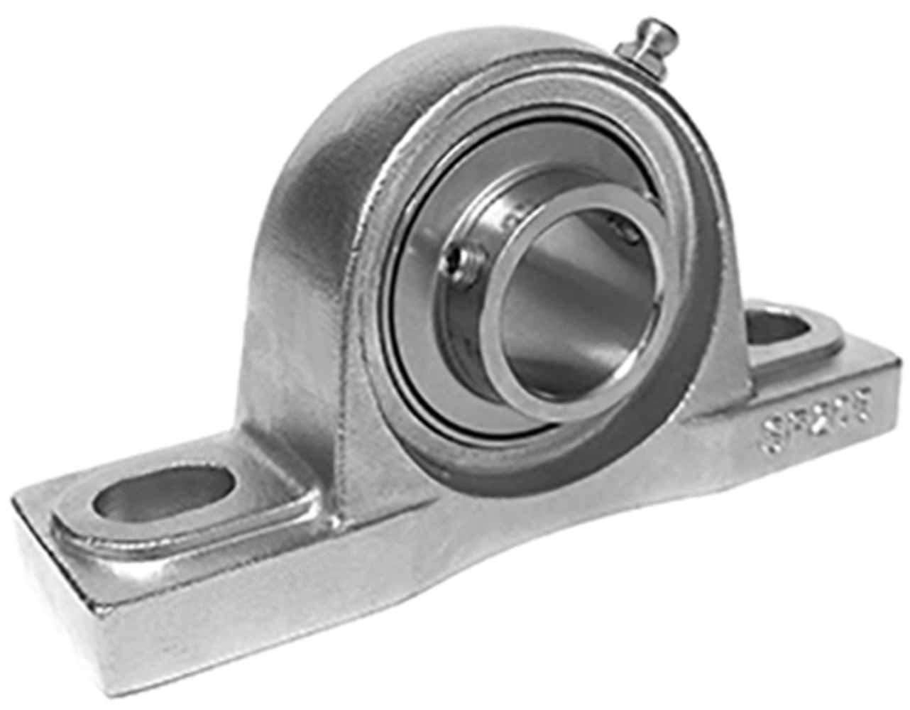 Stainless Steel Block : Stainless steel pillow block bearings a b