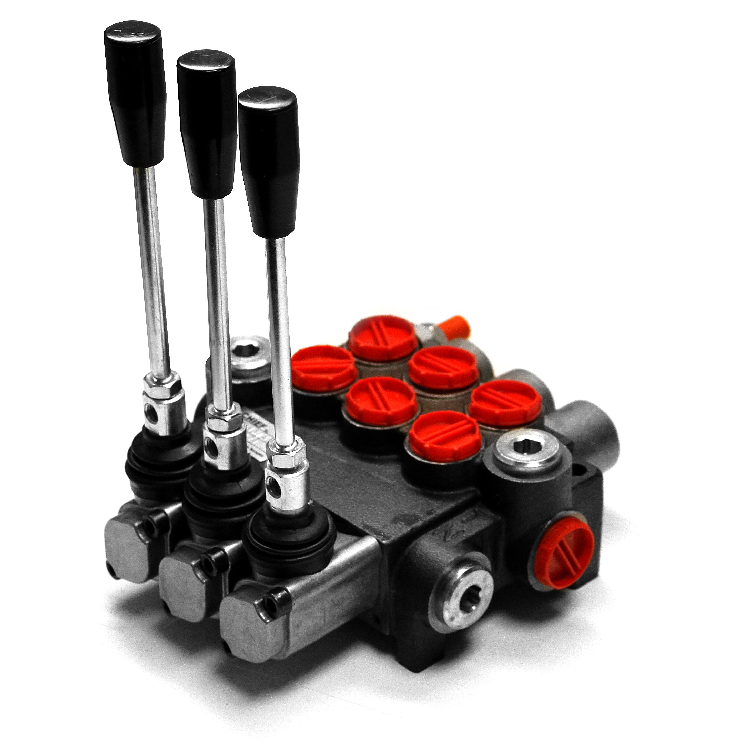 Hydraulic Directional Control, Flow, Solenoid, and Check Valves