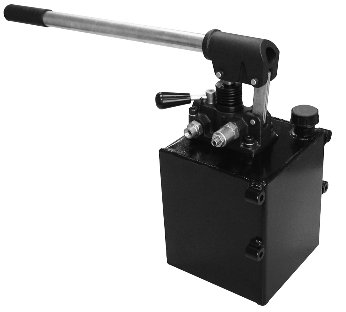 Hydraulic Hand Pump : Chief double acting hand opertated hydraulic pump