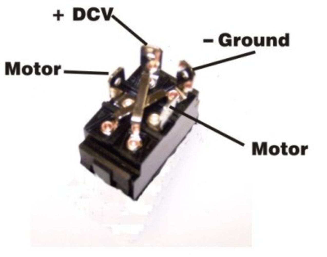 dual rotation 30 amp rocker switch 30 rocker switch polarity dc motor 253201