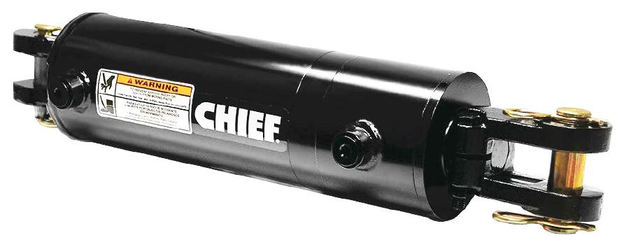 1.25 Rod Diameter with SAE #8 Port Size Chief WP Welded Cylinder: 2 Bore x 8 Stroke 287207 0.75 Pin Dia 3000 PSI Retracted: 16.0 and Extended Length: 24.0