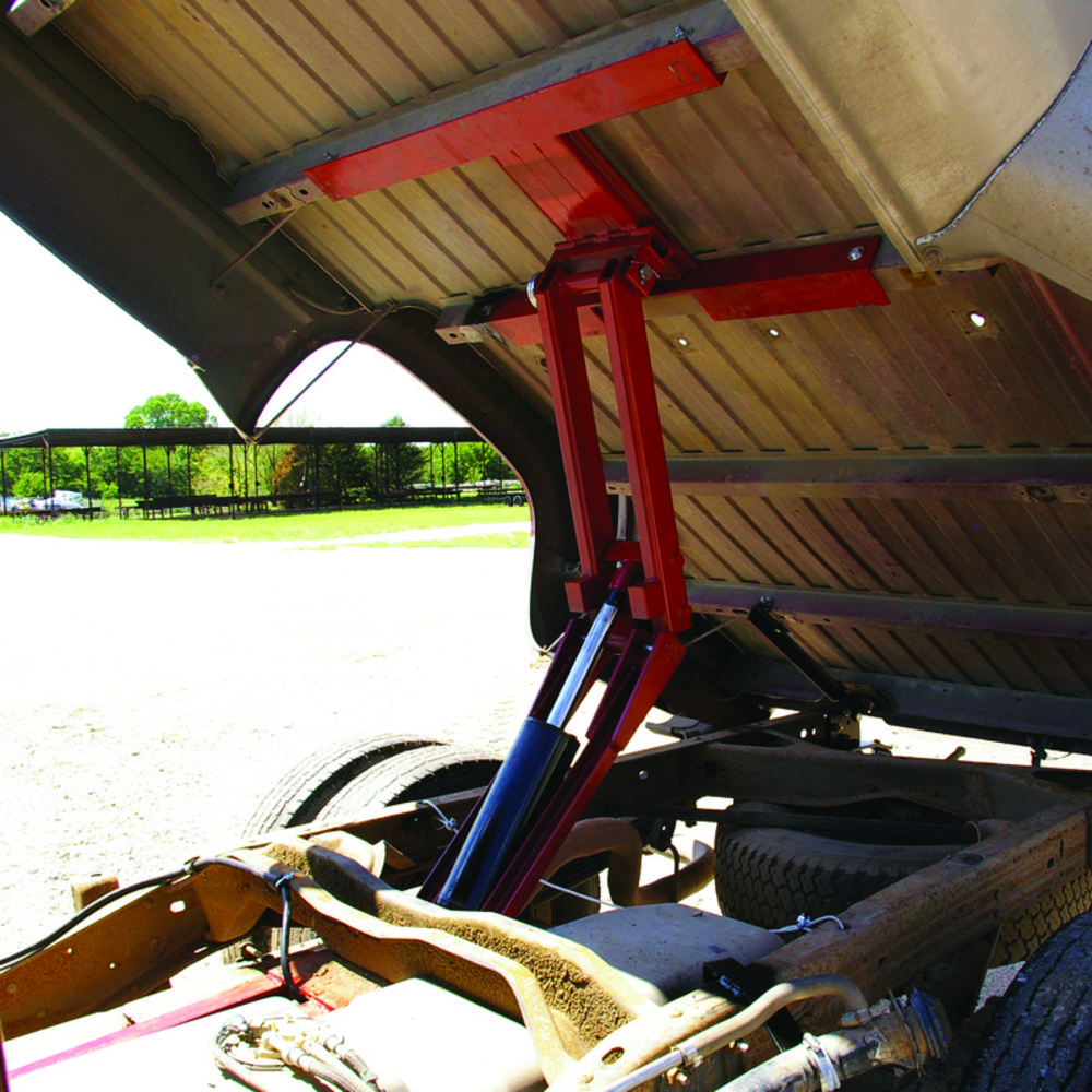 5 Ton Dump Hoist Kits : Pierce universal ton dump kit flatbed truck hoist