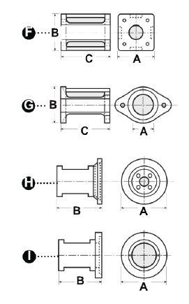 mounting brackets g series  2 u201d frame  202047
